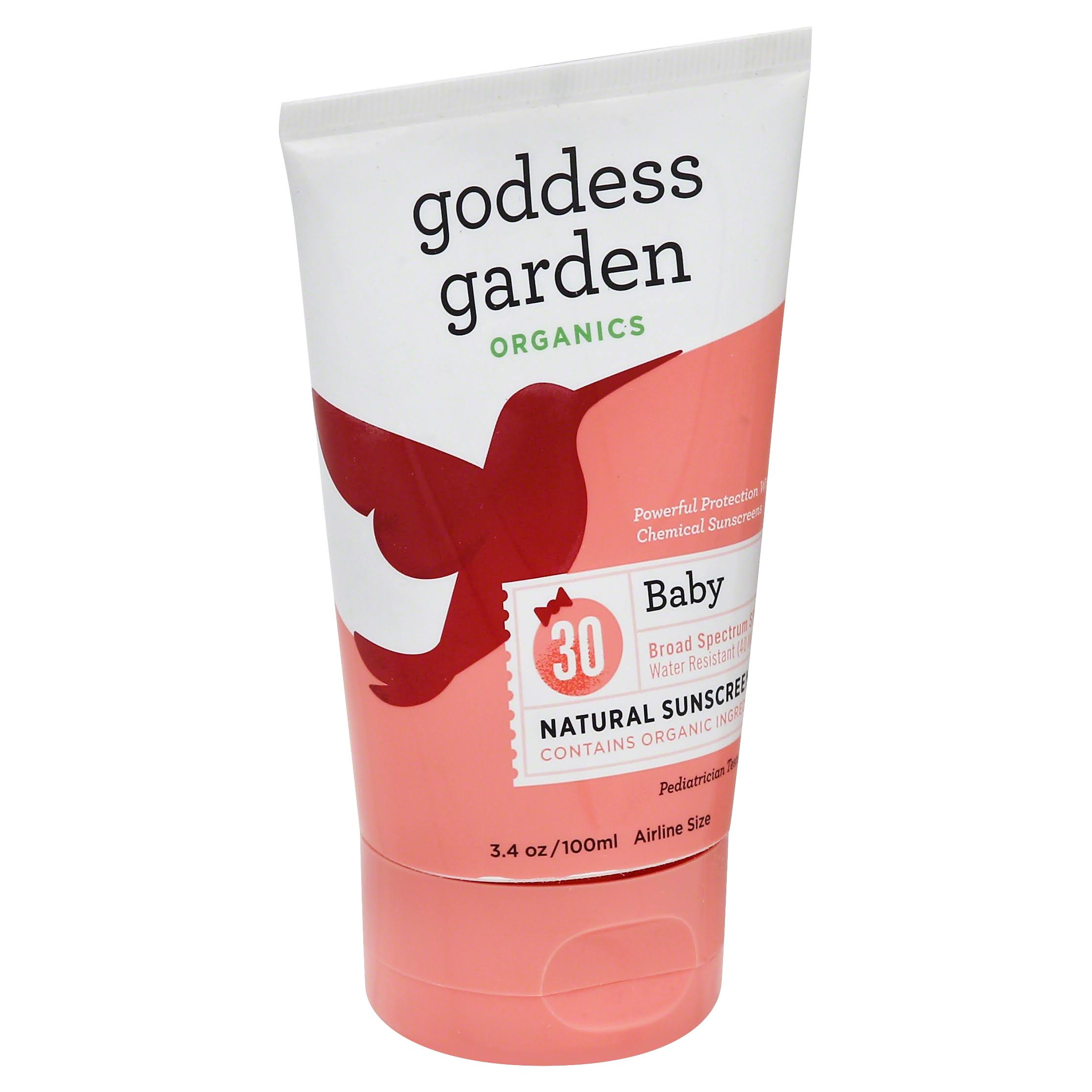 Goddess Garden Baby Natural Sunscreen Lotion - SPF 30