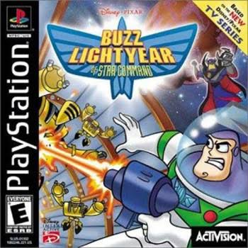 Buzz Lightyear of Star Command - Playstation 1