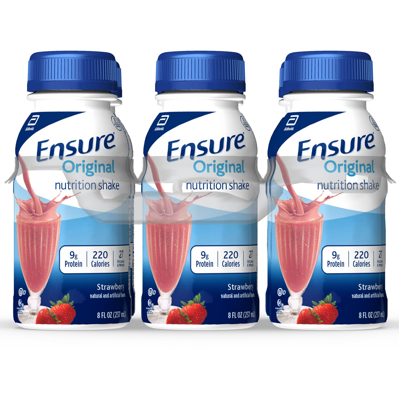 Abbott Ensure Original Nutrition Shake - Strawberry, 8oz