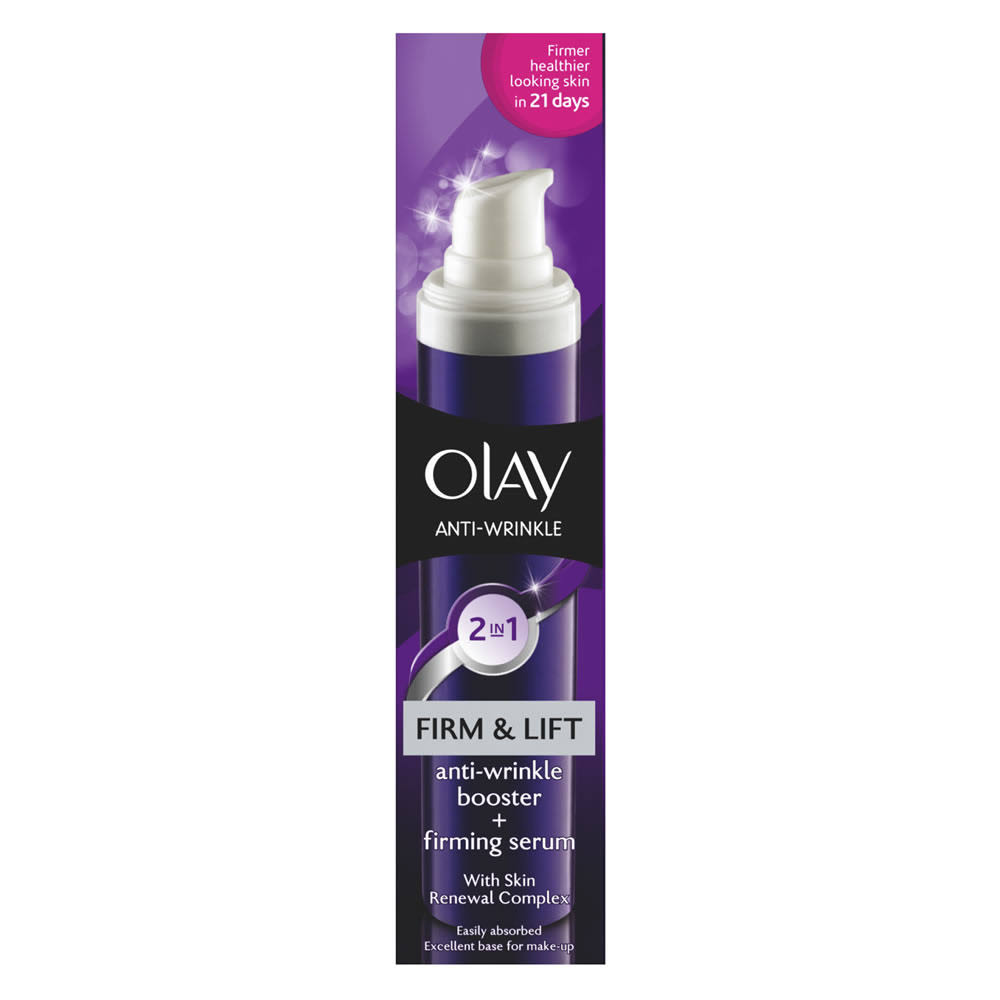 Olay Anti Wrinkle Firm And Lift 2 In 1 Day Cream + Serum - 50ml