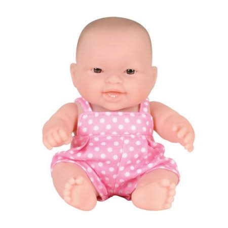 Berenguer Lots to Love Caucasian Vinyl Baby Doll - 8""