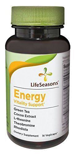Lifeseasons Energy Vitality Support Dietary Supplement - 14ct