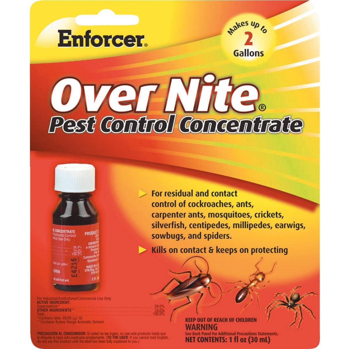 Enforcer Over Nite Pest Control Concentrate - 30ml