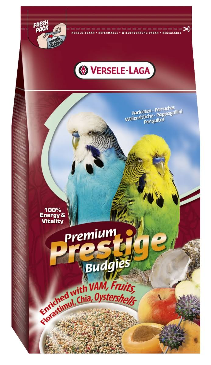 Versele-Laga Premium Prestige Budgies Bird Food - 1kg