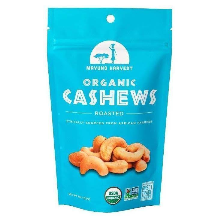 Mavuno Harvest - Organic Roasted Cashews with Sea Salt