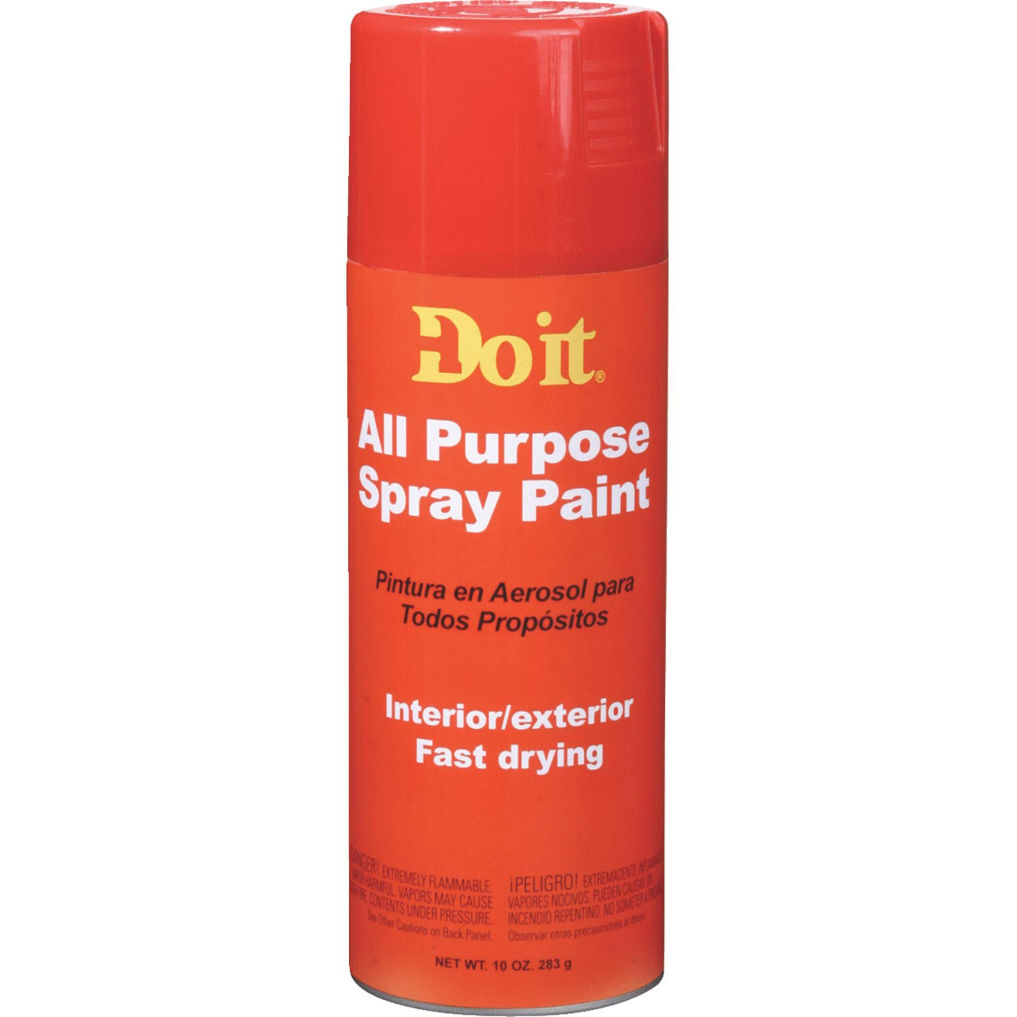 Do It All Purpose Aerosol Paint - Red