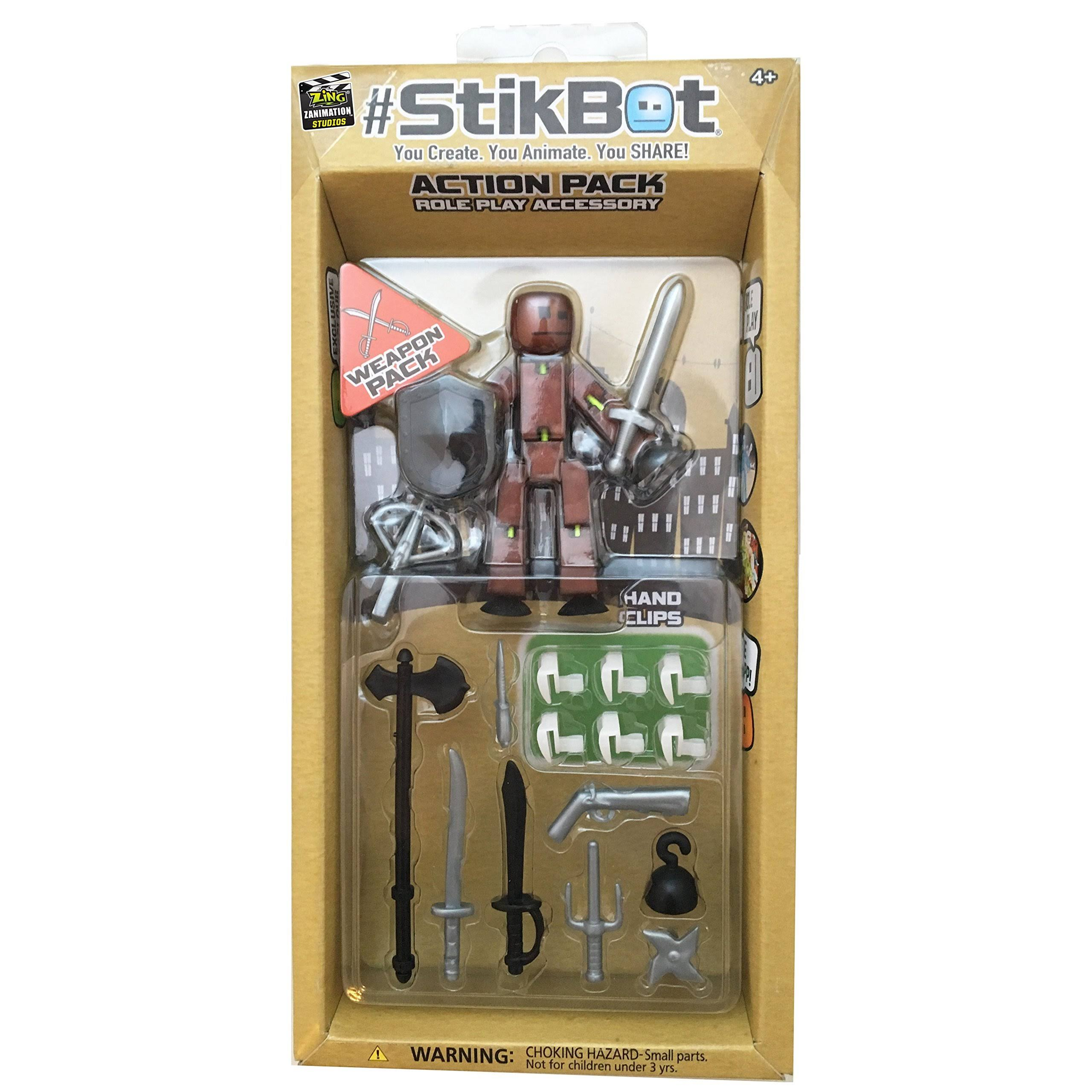 StikBot S1015 Weapons Action Pack Playset