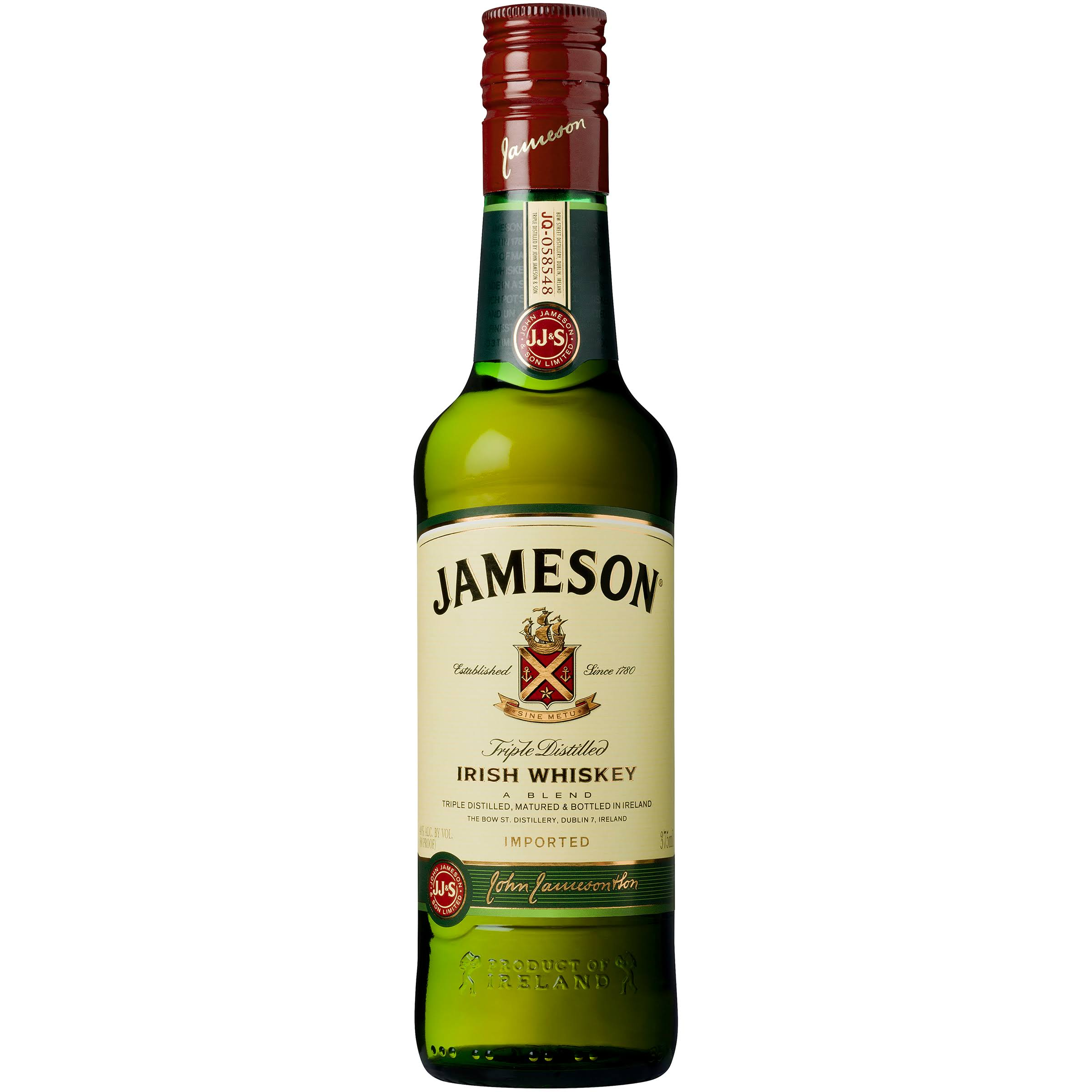 Jameson Irish Whiskey - 375 ml bottle