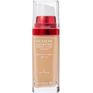 Revlon Age Defying Firming Lifting Makeup - 30 Soft Beige, 1oz