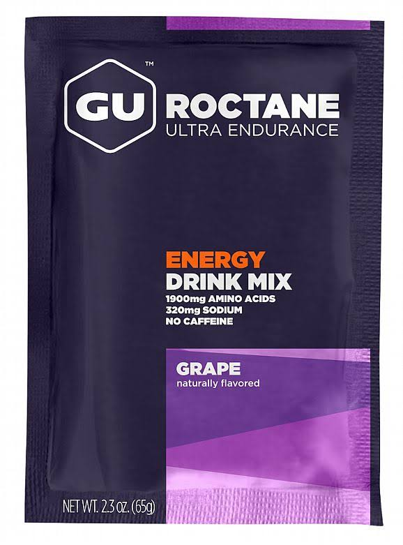 GU Energy Roctane Ultra Endurance Energy Drink Mix 65g Grape