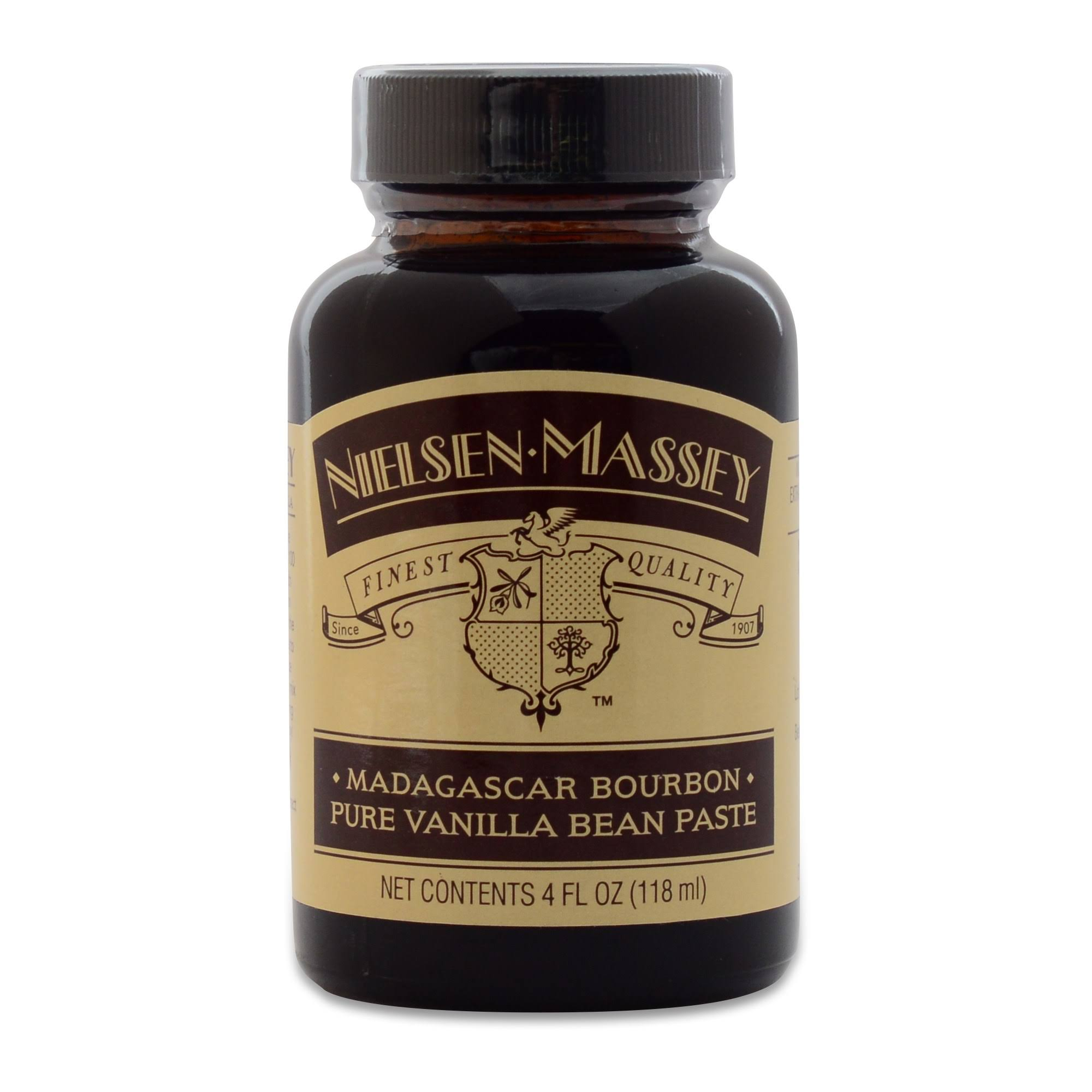 Nielsen Massey Vanilla Bean Paste, Pure, Madagascar Bourbon - 4 fl oz