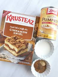Cake Mix And Pumpkin by 4 Ingredient Snickerdoodle Pumpkin Muffins Together As Family