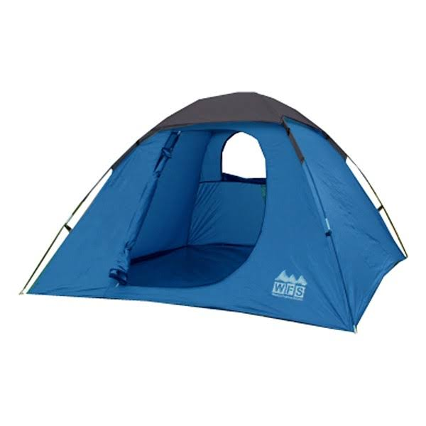 World Famous Sports 3 Person Dome Tent Blue