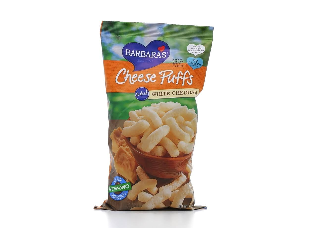 Barbara's Baked White Cheddar Cheese Puffs - 5.5oz