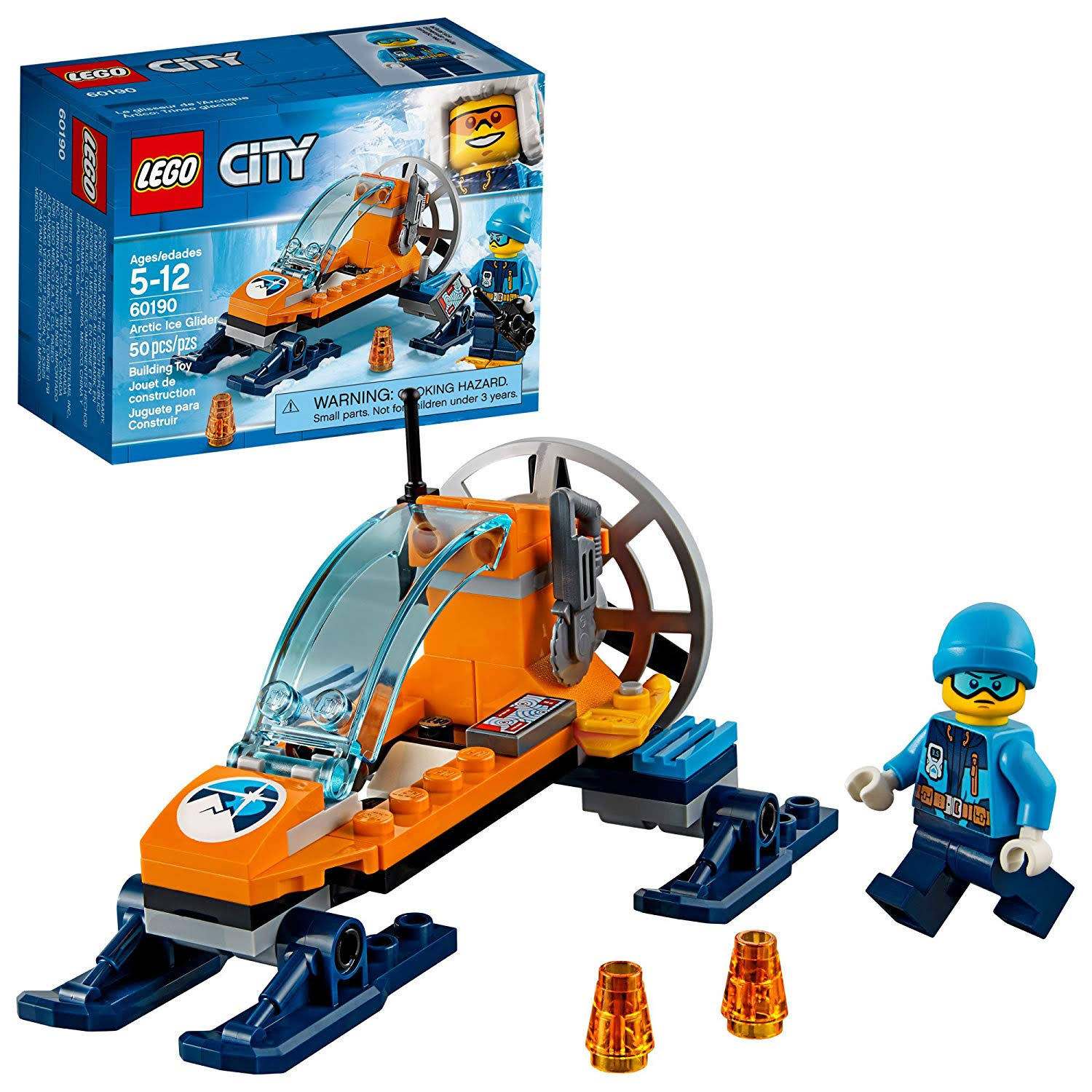 Lego Building Toy, Arctic Ice Glider, City