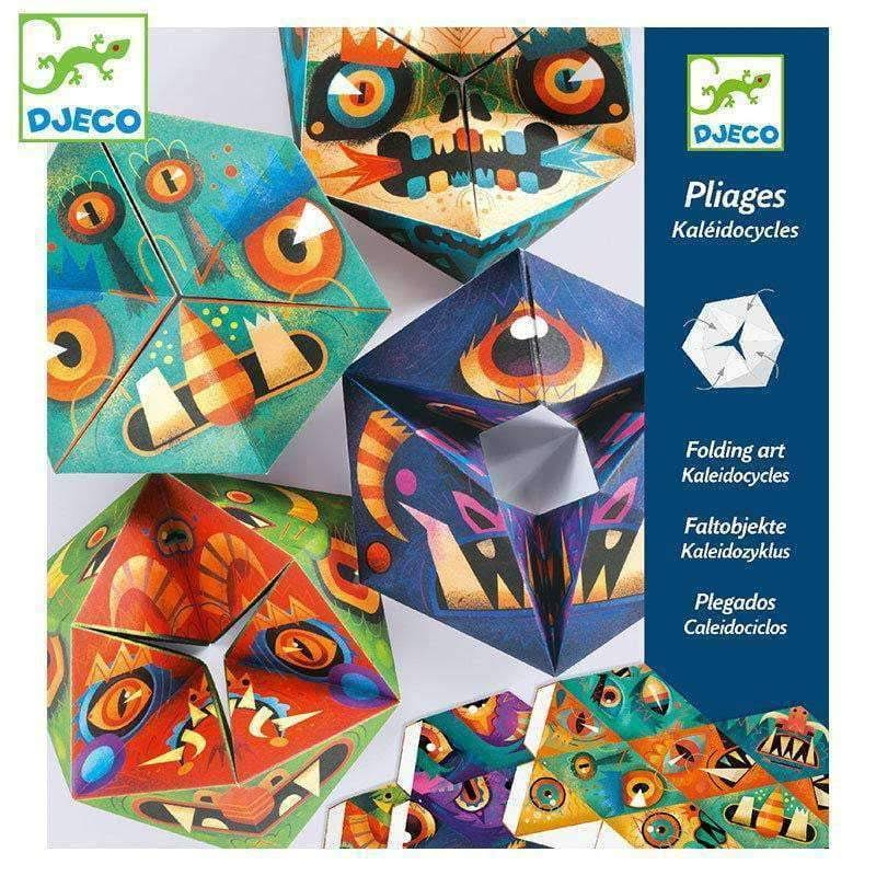 Djeco Kaleidocycles - Flexmonsters DJ09660