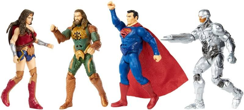 DC Justice League Talking Heroes Figure Assortment
