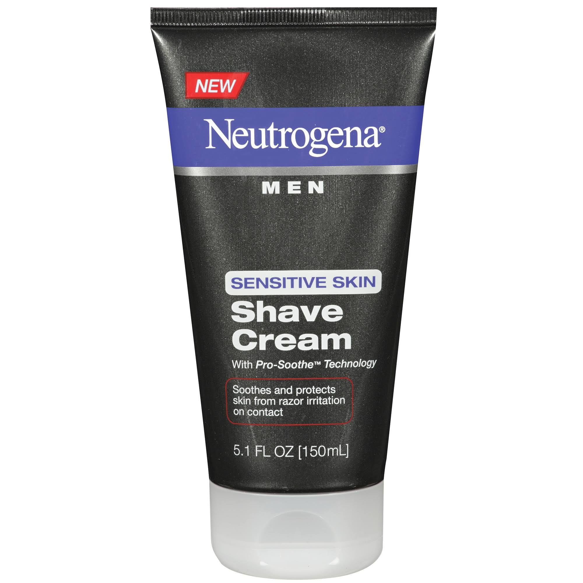Neutrogena Men Sensitive Skin Shave Cream - 150ml