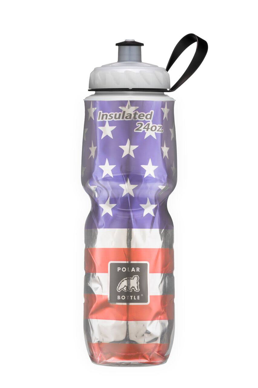 Polar Insulated Water Bottle - Stars, 24oz