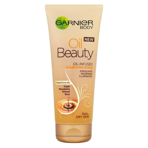 Garnier Oil Beauty Body Scrub - 200ml