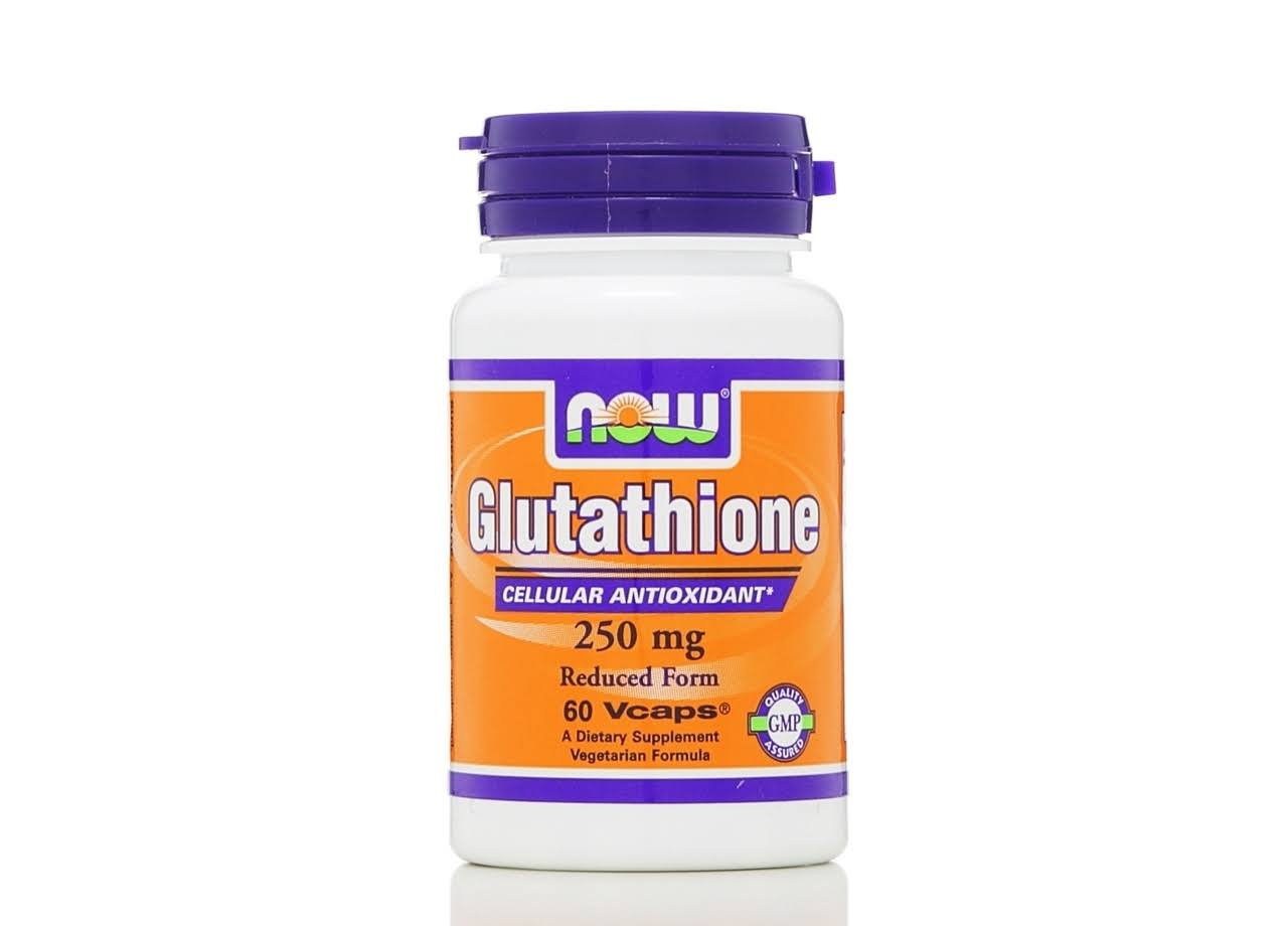 Now Foods Glutathione 250mg Dietary Supplement - 60 Capsules