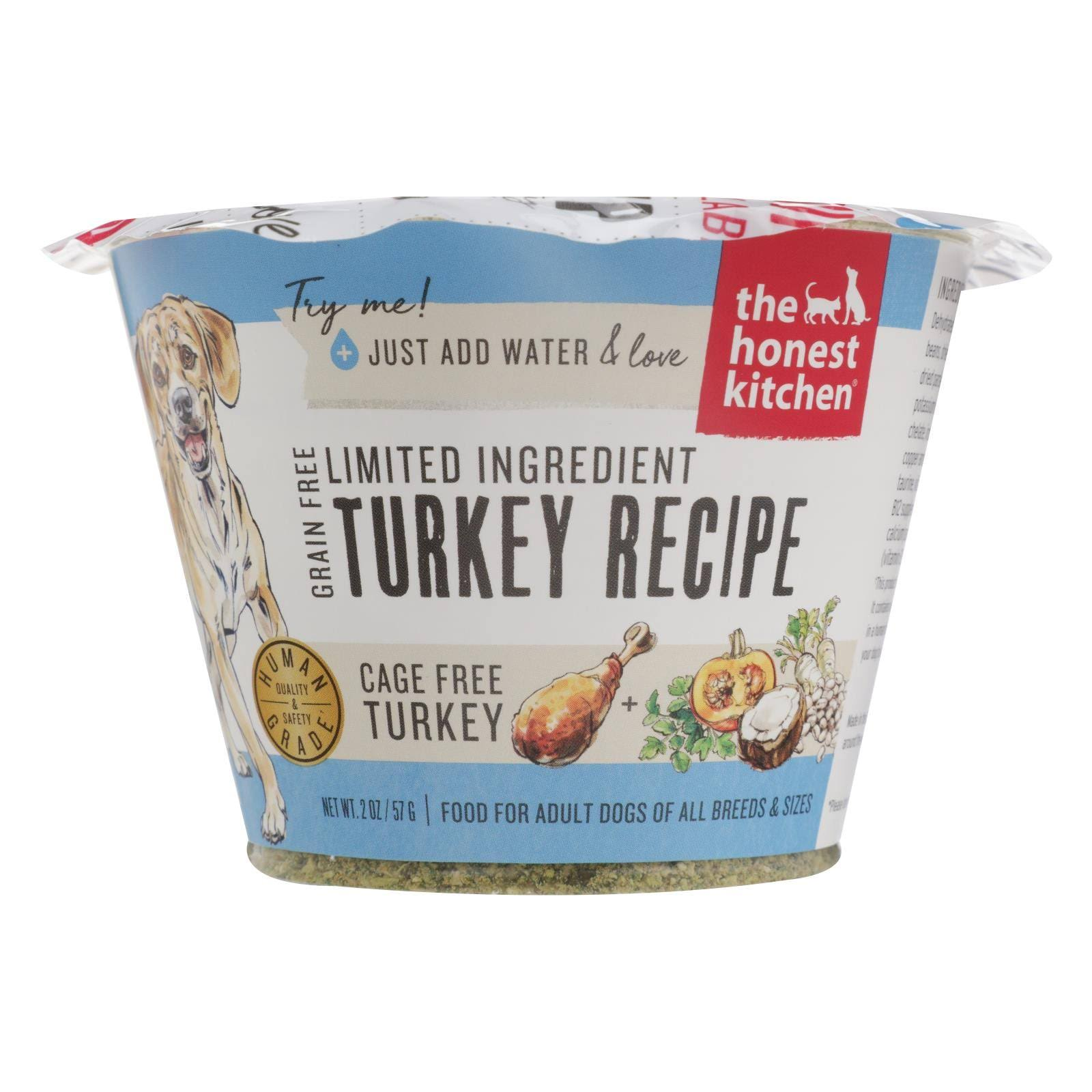 Honest Kitchen Limited Turkey Dehydrated Food 1.75 oz Trial