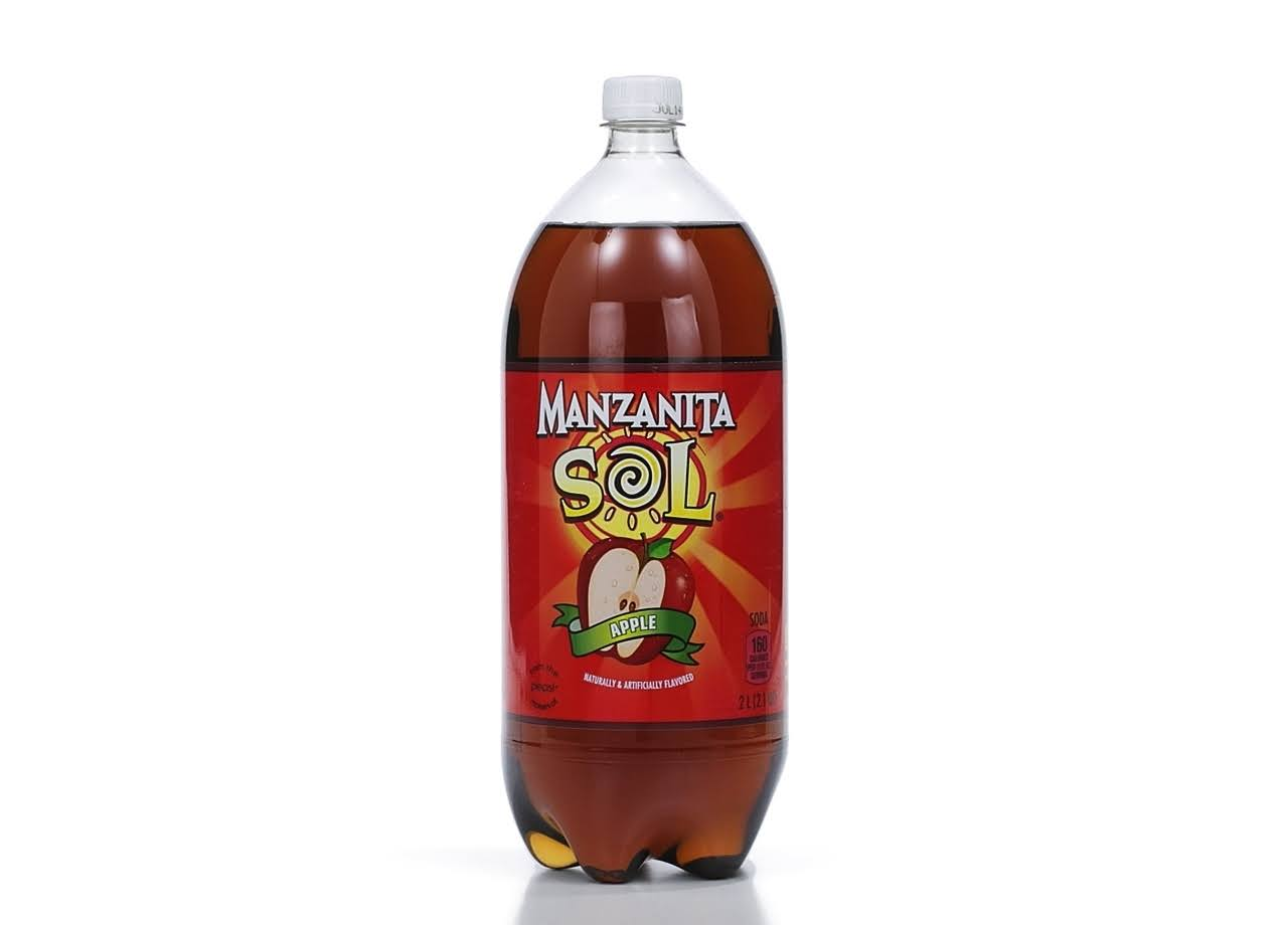 Manzanita Sol Apple Soda - 68oz