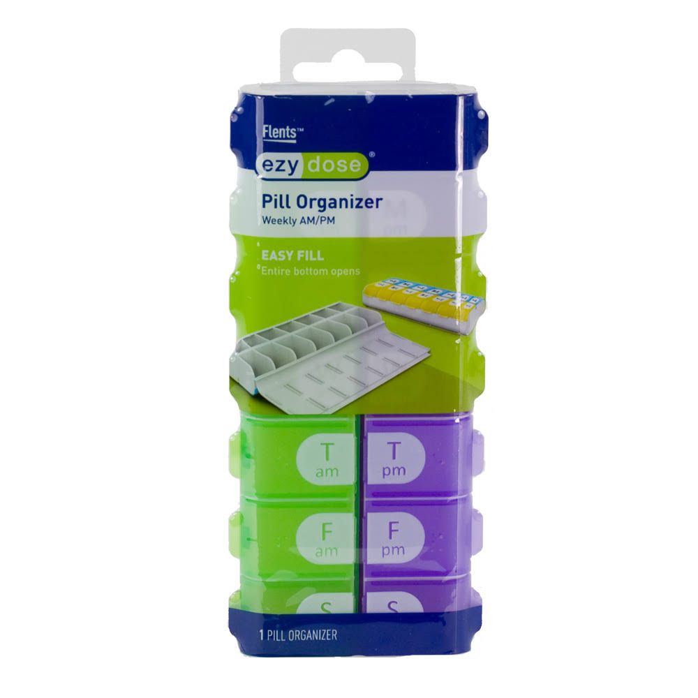 Ezy Dose Weekly AM/PM Pill Organizer