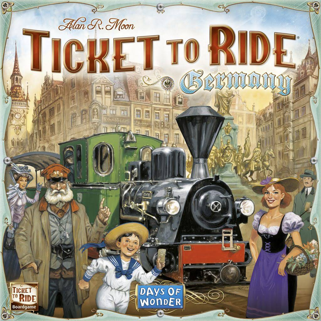 Ticket To Ride Germany: Days Of Wonder Board Game