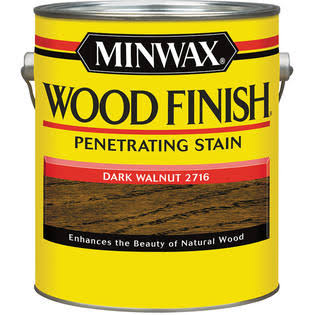 Minwax 1-Gallon Dark Walnut Wood Stain