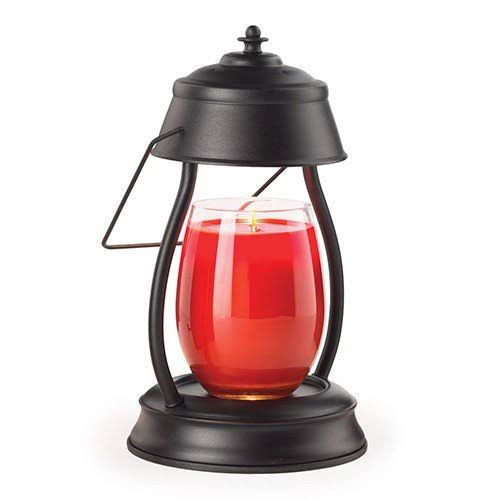 Candle Warmers Hurricane Candle Warmer Lantern - Black