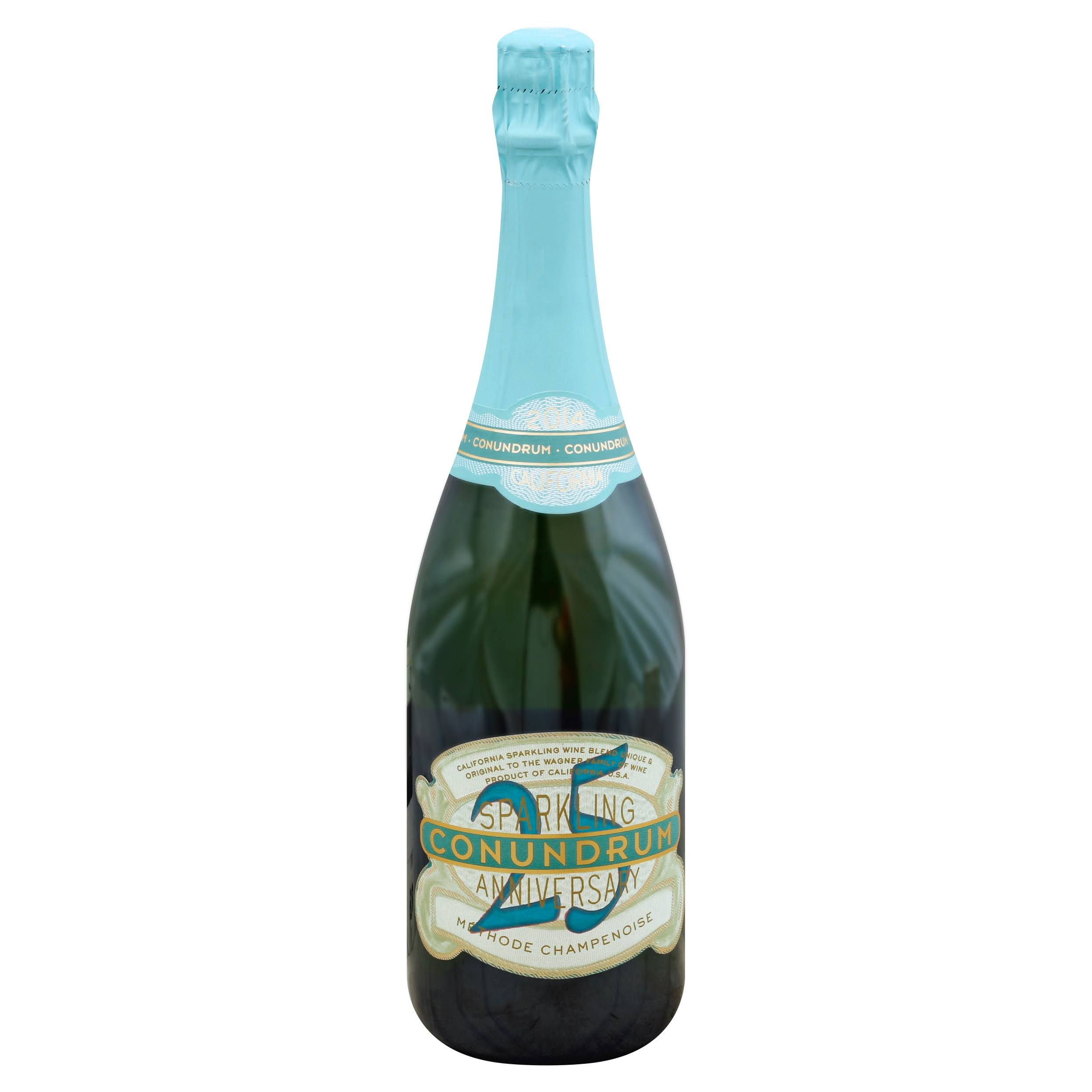 Conundrum Sparkling Champagne, California (Vintage Varies) - 750 ml bottle