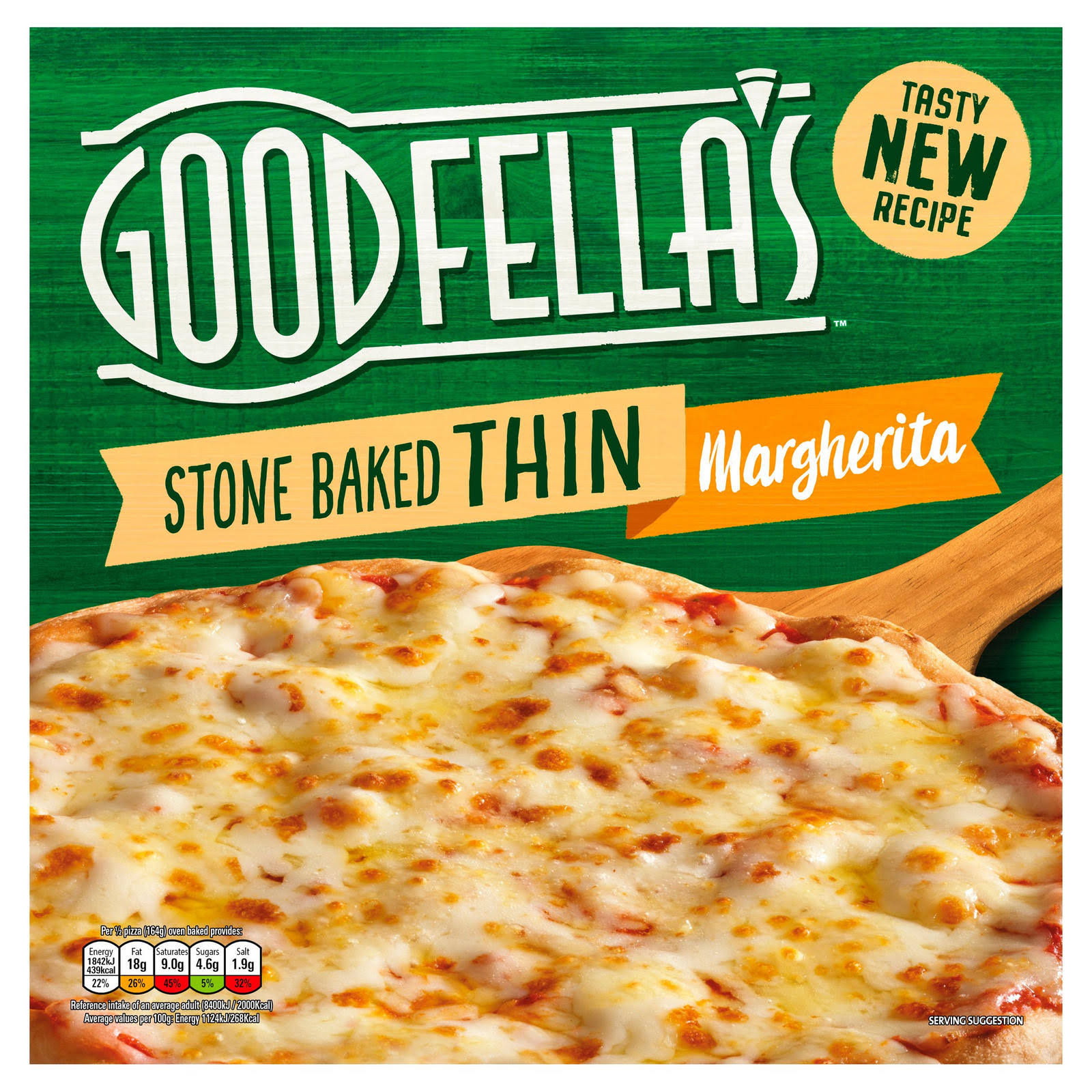 Goodfella's Stonebaked Thin Pizza - Margherita, 345g
