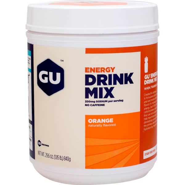 GU Energy Drink Mix 840 grams Orange