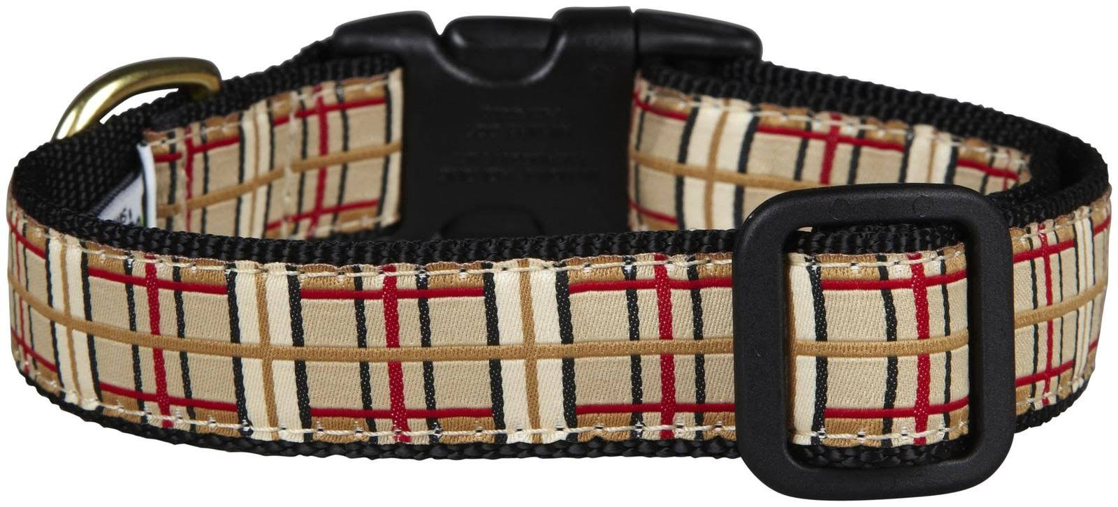 Up Country Plaid Dog Collar - Medium