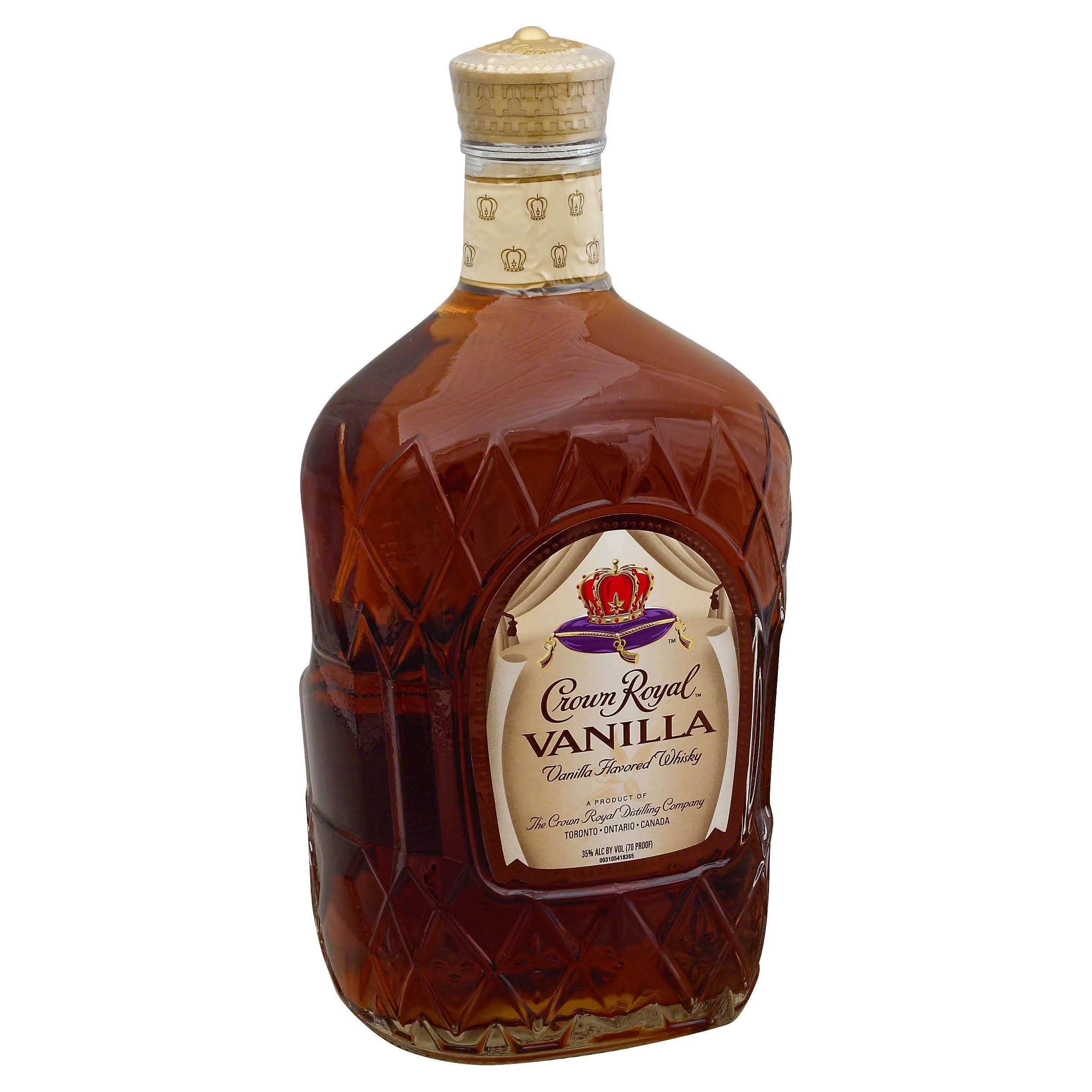 Crown Royal Whisky, Vanilla - 1.75 l