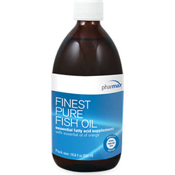 Pharmax Finest Pure Fish Oil - 16.9oz