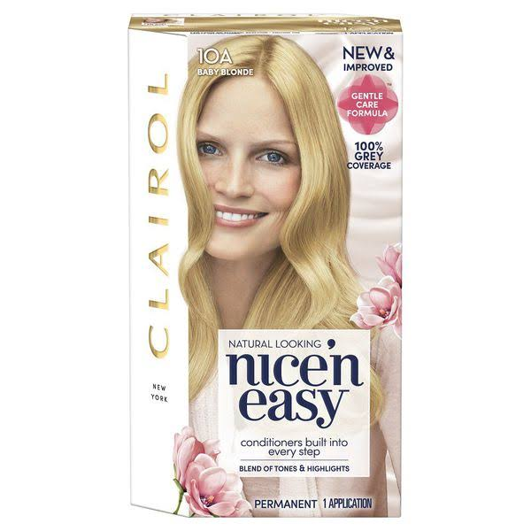 Nice N Easy Permanent Hair Dye - 10A Baby Blonde