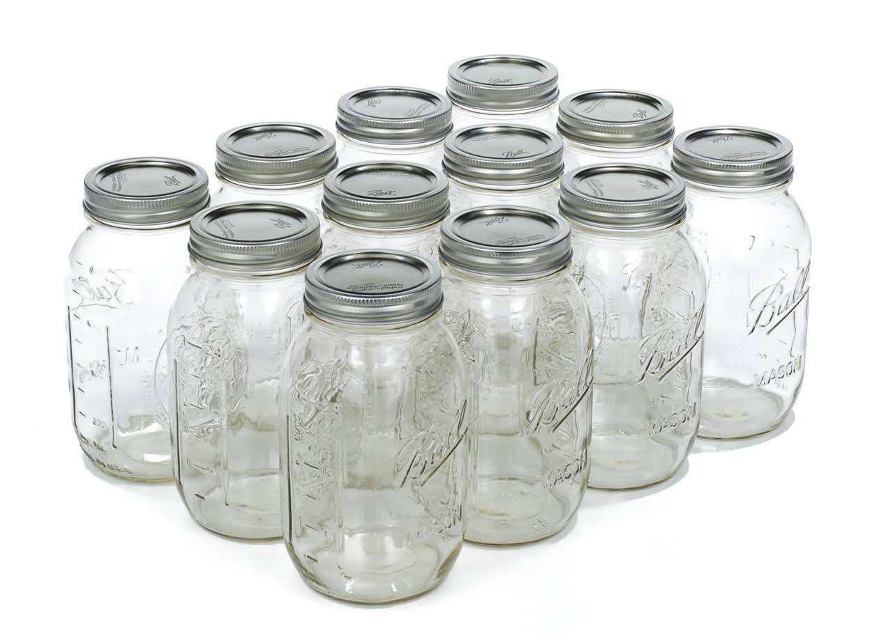 Ball Regular Mouth Mason Jar - 32oz