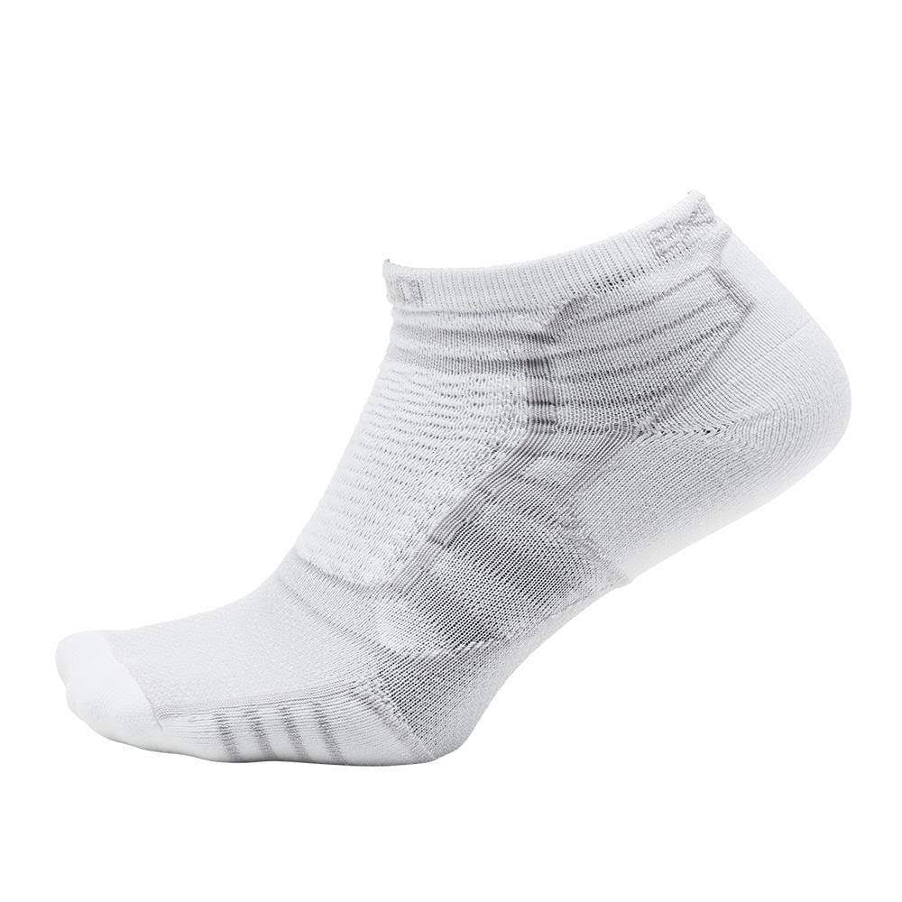 Thorlos Experia Prolite No-Show Tab Socks - Small, White
