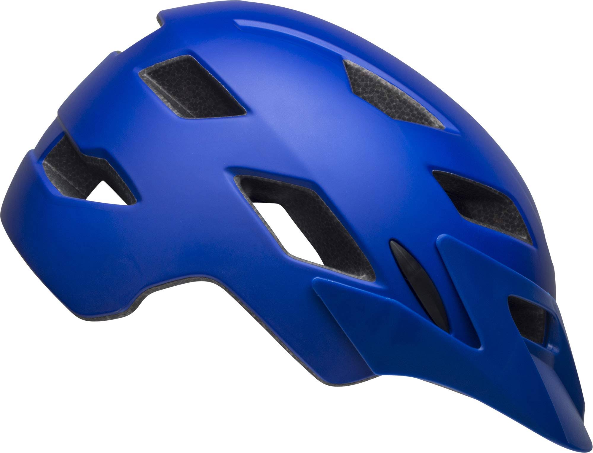 Bell Sidetrack Helmet - Kids' T-Rex Matte Blue, Youth