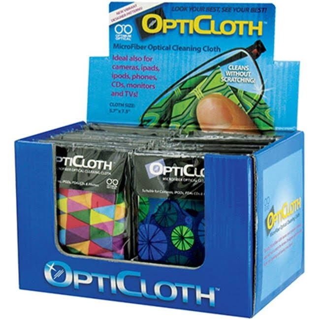 OptiCloth Microfiber Optical Cleaning Cloth