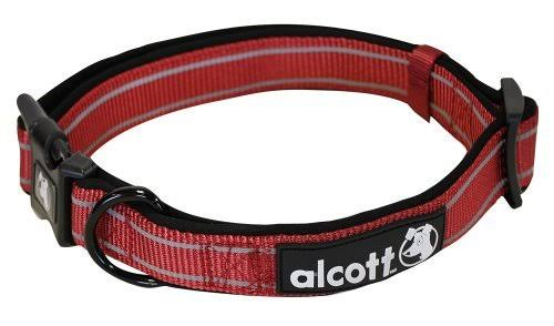 Alcott Essentials Adventure Pet Collar - Red