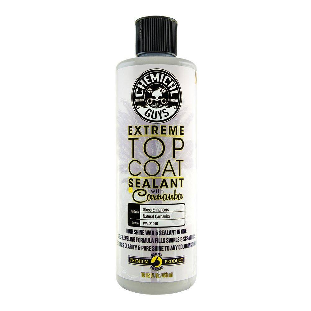 Chemical Guys Extreme Top Coat Carnauba Wax and Sealant - 16oz