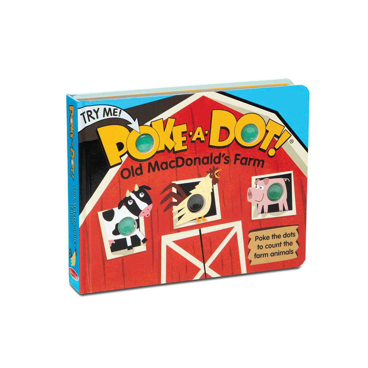 Melissa & Doug Poke-A-Dot: Old MacDonald's Farm Book