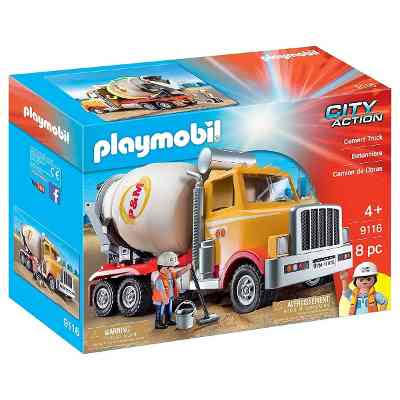 Playmobil City Action Diecast Vehicle Toy - Cement Truck