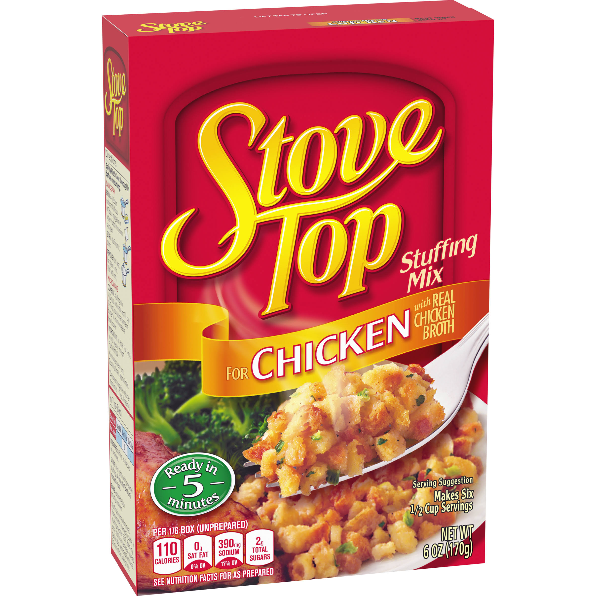 Kraft Stove Top Stuffing Mix - for Chicken, 170g