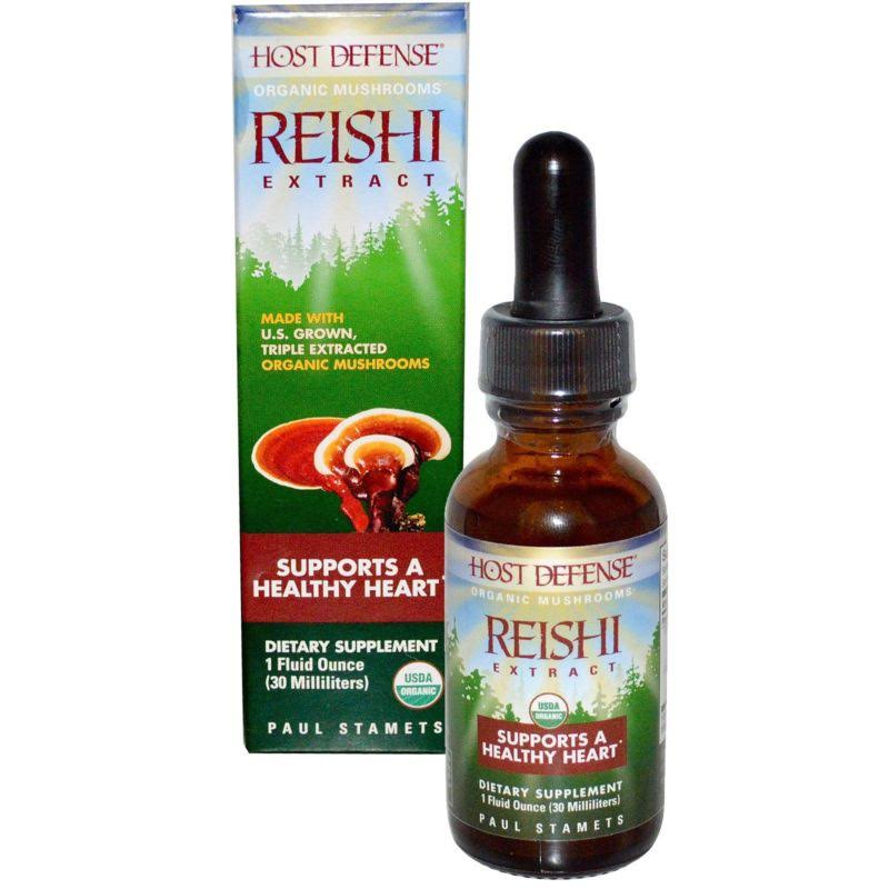 Host Defense Reishi Extract - 30 Servings, 1oz