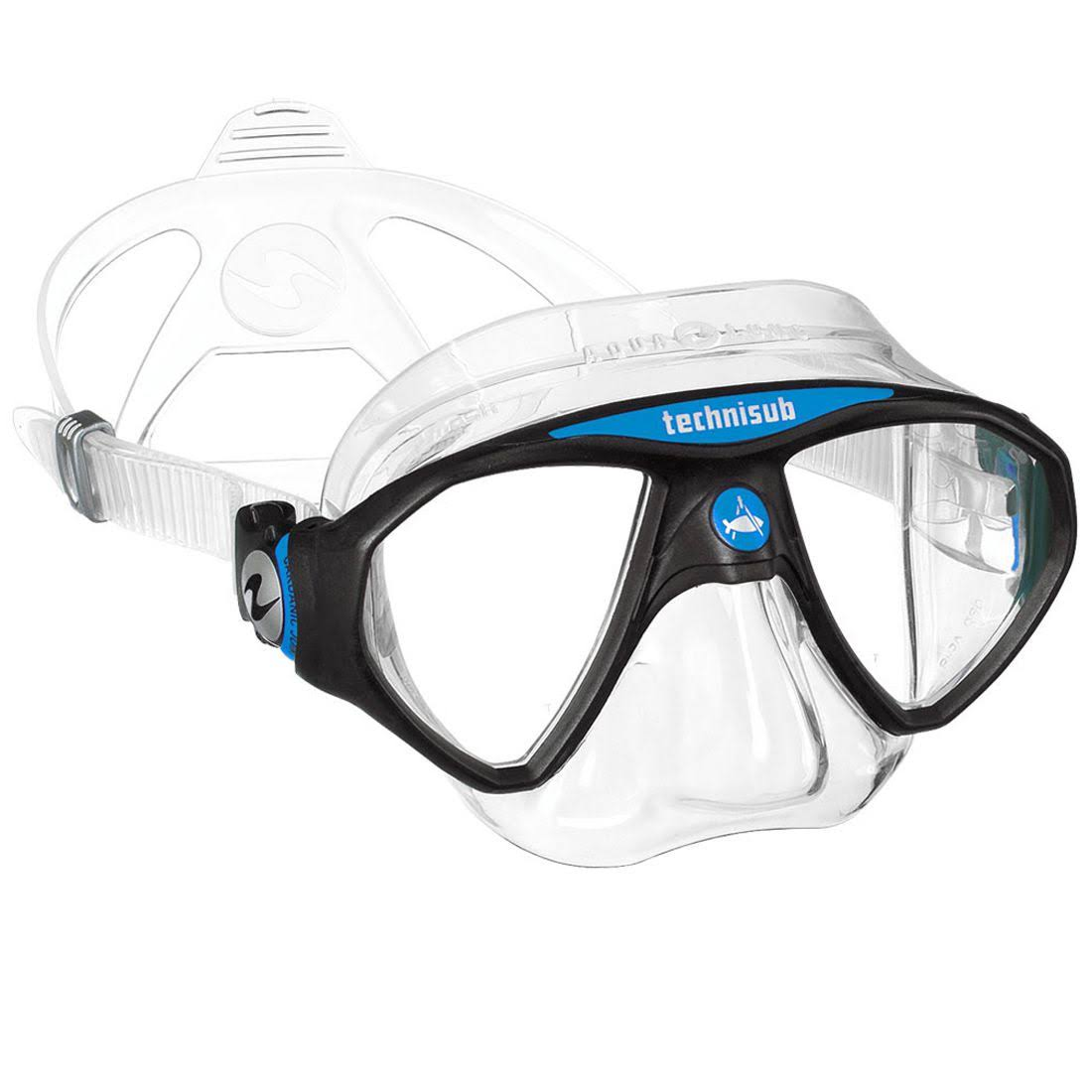 Aqua Lung Micromask Scuba Mask - Blue