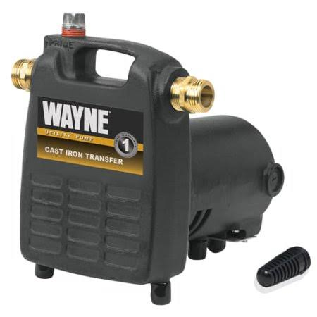Wayne Pc4 Cast Iron Portable Transfer Water Utility Pump - 1/2 HP, 115V